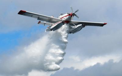 Conair flight training in Fraser Valley